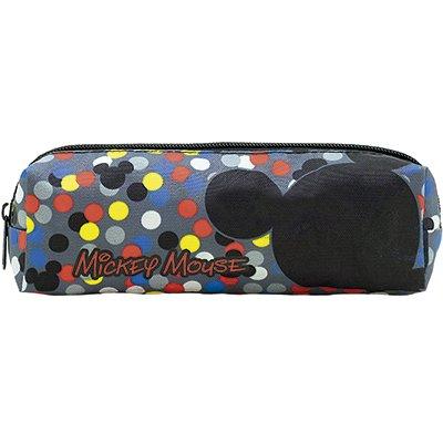 Estojo escolar nylon Mickey T1 9101 Xeryus PT 1 UN