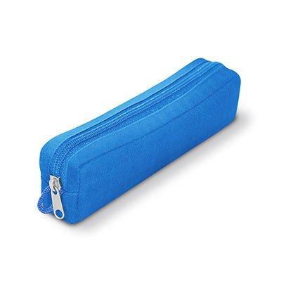 Estojo escolar poliéster azul PCSB Spiral PT 1 UN