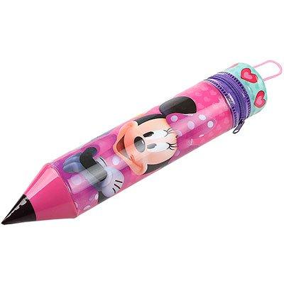 Estojos Escolares vinil lápis Minnie DYP-101 Western PT 1 UN