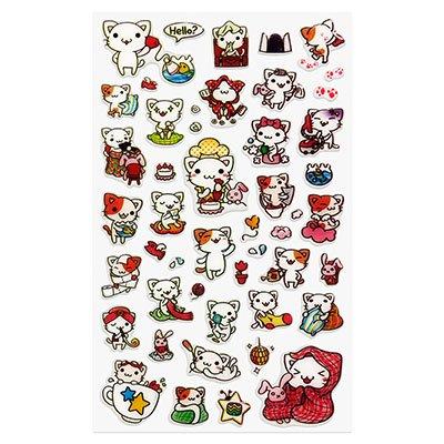 Adesivo stick little cat 15S-C535 Funny Sticker PT 1 UN