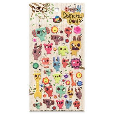 Adesivo stick danchu doll 15S-C548 Funny Sticker PT 1 UN