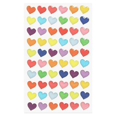 Adesivo stick color heart 15S-H003.2 Funny Sticker PT 1 UN