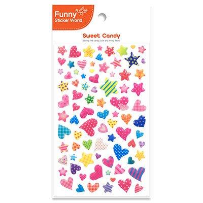 Adesivo stick sweet candy 15S-H004 Funny Sticker PT 1 UN