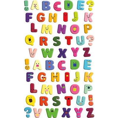 Adesivo stick alfabeto 15S-L406 Funny Sticker PT 1 UN