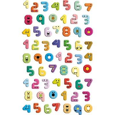 Adesivo stick números 15S-L407 Funny Sticker PT 1 UN