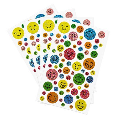 Adesivo stick happy face 61-34H Funny Sticker PT 1 UN
