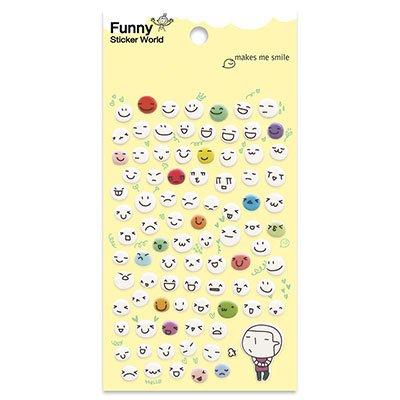 Adesivo stick smile 64-03.2 Funny Sticker PT 1 UN