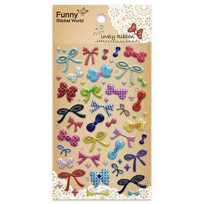 Adesivo stick lovely ribbon 81-27 Funny Sticker PT 1 UN