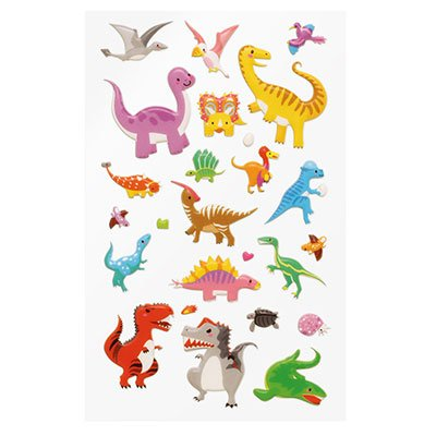 Adesivo stick dinosaurs 15S-C511.1 Funny Sticker PT 1 UN