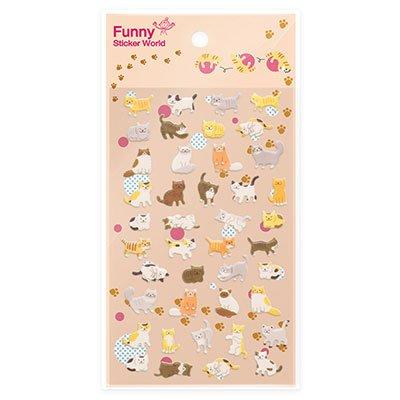 Adesivo stick cat 15S-C518 Funny Sticker PT 1 UN