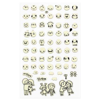 Adesivo stick smile 69-01.2 Funny Sticker PT 1 UN