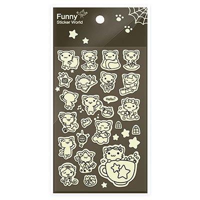 Adesivo stick little cat 69-01.3 Funny Sticker PT 1 UN