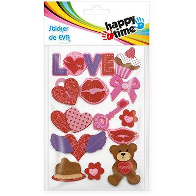 Adesivos EVA Love 50718 Happy-time PT 1 UN