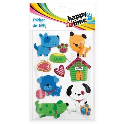 Adesivos EVA Cachorros 50884 Happy-time PT 1 UN