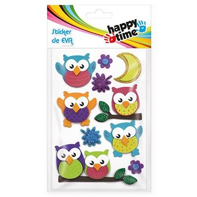 Adesivos EVA Corujas 50722 Happy-time PT 1 UN