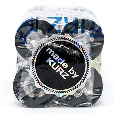 Ribbon cera Premium para impressora térmica (código de barras) 110mmx74m Kurz PT 4 UN