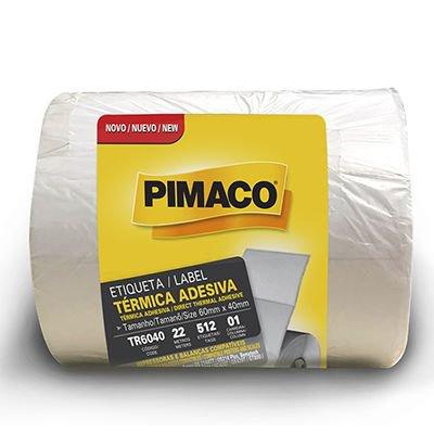 Etiqueta adesiva para balança térmica 60x40mm Rr Etiqueta PT 4 UN