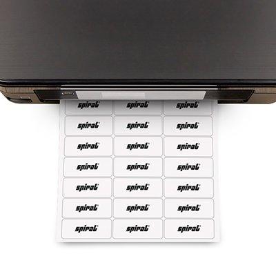 Etiqueta ink-jet/laser A4 25,4x63,5 356 Spiral PT 3300 UN