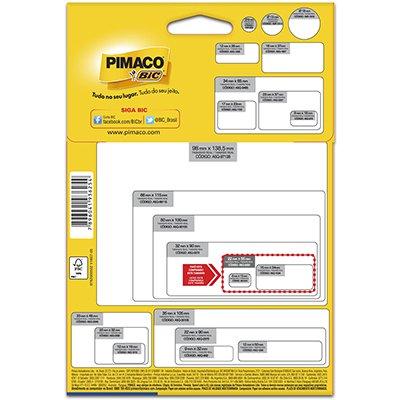 Etiqueta ink-jet/laser A5 22,0x55,0 multiuso Q-2050 Pimaco PT 216 UN