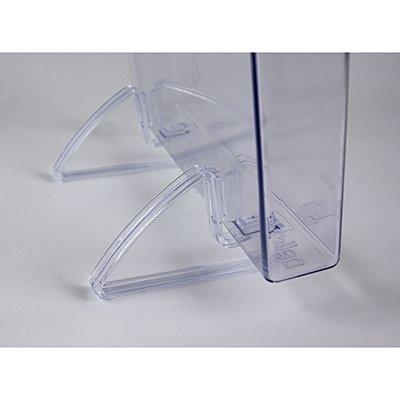 Organizador de escritório vertical Cristal Dello CX 1 UN