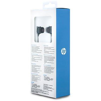Fone de ouvido Intra Auricular com microfone preto DHE-7003 HP - 9YE86AA CX 1 UN