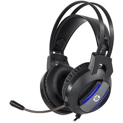 Headset Gamer P3/P2 adapter com USB blue light DHE-8001, 9NG12AA, HP - CX 1 UN