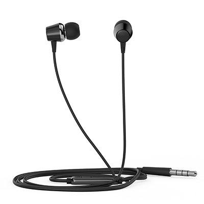 Fone de ouvido Intra Auricular com microfone preto DHE-7000 HP - 8YJ88AA CX 1 UN
