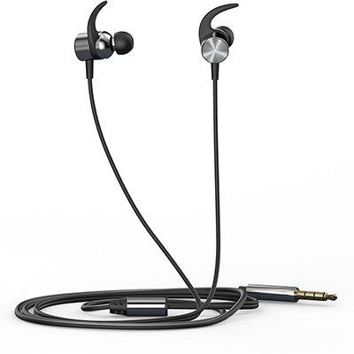 Fone de ouvido Intra Auricular com microfone prata DHH-3114 HP - 8CA74AA CX 1 UN