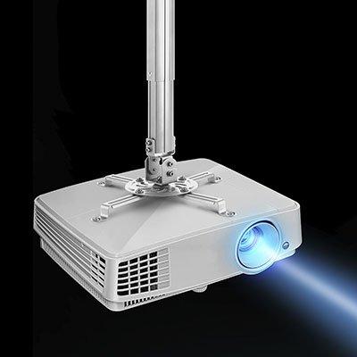 Suporte de teto p/projetor c/ajuste de altura PRO1100B Elg CX 1 UN