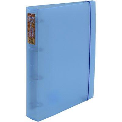 Fichário 4 argolas PP A4 lombada 5.0 azul 804-2 Acrimet PT 1 UN