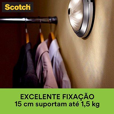 Fita adesiva dupla face espuma Uso Interno Fixa Forte 24mmx1,5m Scotch 3M BT 1 UN