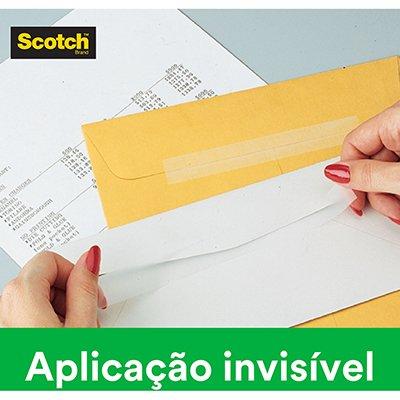 Fita Mágica Scotch® - 12 mm x 10 m - Com Suporte BT 1 UN