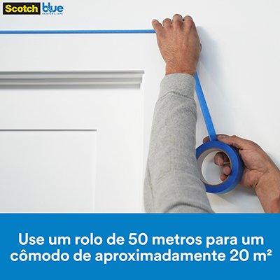 Fita crepe 24mmx50m Blue tape 3M PT 1 UN