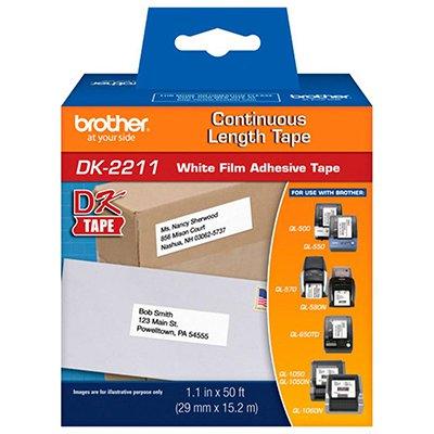 Etiqueta p/impressora térmica DK2211 Brother CX 1 UN
