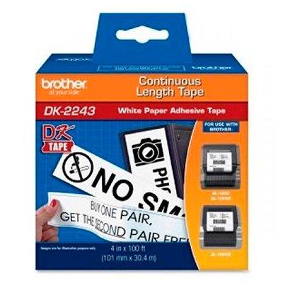 Etiqueta p/impressora térmica DK2243 Brother CX 1 UN