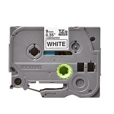 Fita para rotulador Brother TZe-221 branca escrita preta plástica Brother BT 1 UN