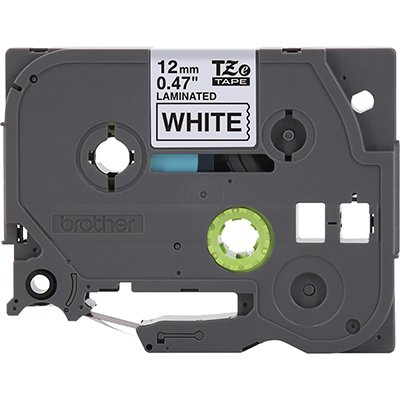 Fita para rotulador Brother TZe-231 branca escrita preta plástica laminada Brother BT 1 UN