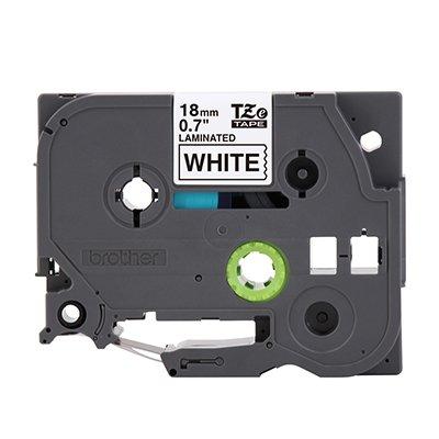 Fita para rotulador Brother TZe-241 branca escrita preta plástica laminada Brother BT 1 UN