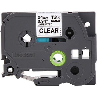 Fita para rotulador Brother TZe-151 transparente escrita preta plástica laminada Brother BT 1 UN