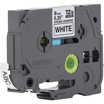 Fita para rotulador Brother TZe-S221 branca escrita preta plástica laminada Brother BT 1 UN