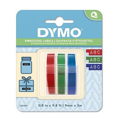 Fita para rotulador Dymo manual 1741671 sortidas  plástica Dymo BT 3 UN
