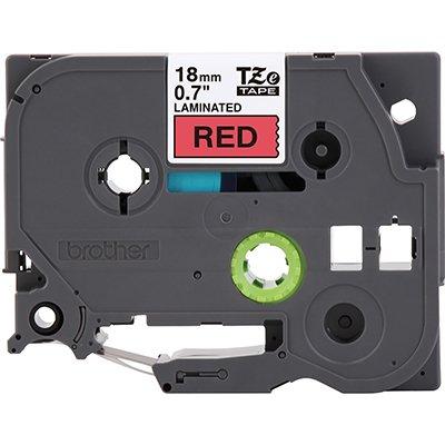 Fita para rotulador Brother TZe-441 vermelha escrita preta plástica laminada Brother BT 1 UN