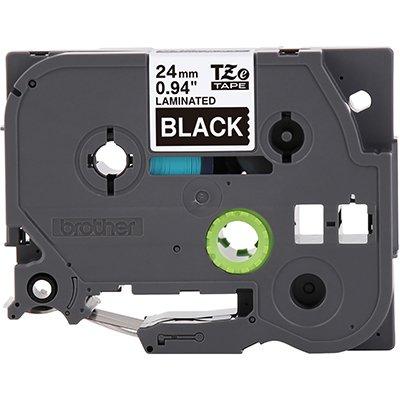 Fita para rotulador Brother TZe-355 preta escrita branca plástica laminada Brother BT 1 UN