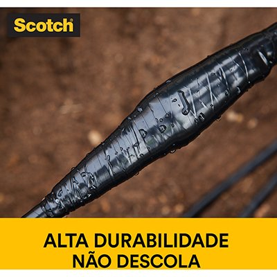 Fita adesiva isolante 19mmx20m 33+ Scotch 3M PT 1 UN