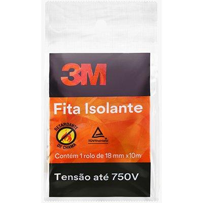 Fita adesiva isolante 18mmx10m HB00460809 3M PT 1 UN