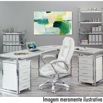 Cadeira giratória Montello branca 99803170 Links CX 1 UN