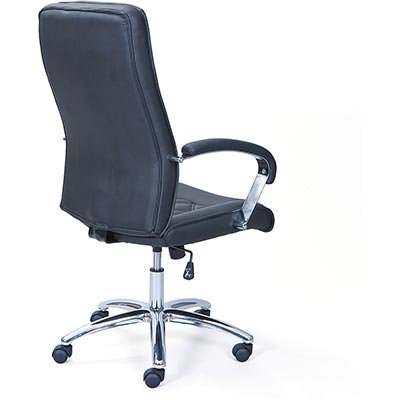 Cadeira giratória Grosseto preta 12478 Links CX 1 UN