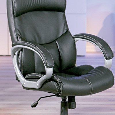 Cadeira giratória Bertoni preta 99803260 Links CX 1 UN