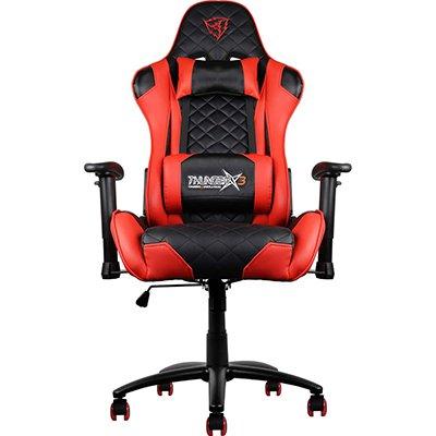 Cadeira Gamer Profissional preta e verm. TGC12 61901 Thunderx3 CX 1 UN
