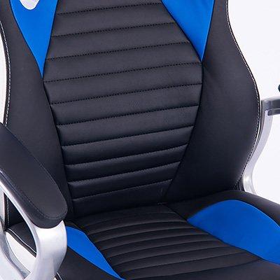 Cadeira Gamer Cloud preta/azul/branca 17434 Links CX 1 UN